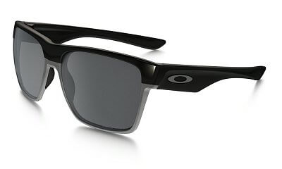 Sluneční brýle Oakley Two Face XL Polished Black w/ Blk Irid Polar
