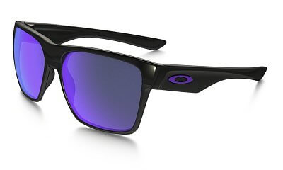 Sluneční brýle Oakley Two Face XL Polished Black w/ Violet Irid