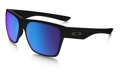 Sluneční brýle Oakley Two Face XL Matte Black w/ Sapph Irid Polar