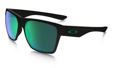 Sluneční brýle Oakley Two Face XL matte Black w/ Jade Irid