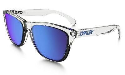 Sluneční brýle Oakley Frogskins Crystal Clear w/ Sapph Irid