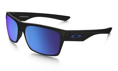 Sluneční brýle Oakley Two Face Matte Black w/Sapph Irid Polar size 60