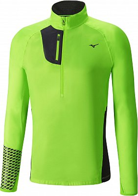 Pánská běžecká bunda Mizuno Breath Thermo Premium Windtop