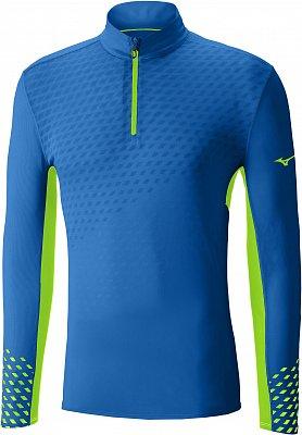 Pánské běžecké tričko Mizuno Premium Aero HZ LS Tee
