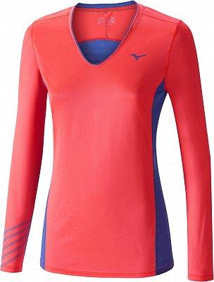 Dámské běžecké tričko Mizuno Premium Aero LS Tee
