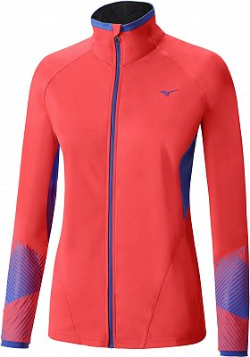 Dámská běžecká bunda Mizuno Breath Thermo Softshell Jacket