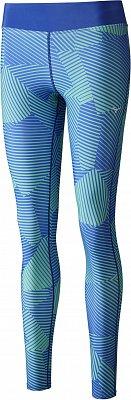 Dámské běžecké kalhoty Mizuno Phenix Printed Long Tights