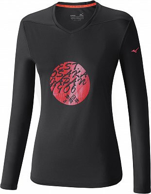 Dámské sportovní tričko Mizuno Core Graphic LS Tee