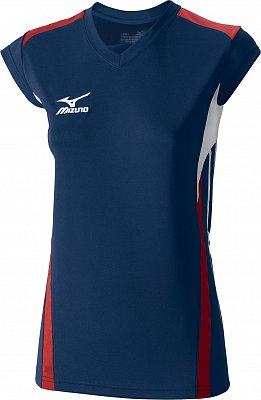 Dámské volejbalové tričko Mizuno Women's Premium Cap Sleeve