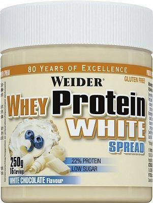 Proteíny - bielkoviny Weider Whey protein white spread, 250g