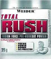 Weider Total Rush Fusion Force Pre-Workout Powder, 25g