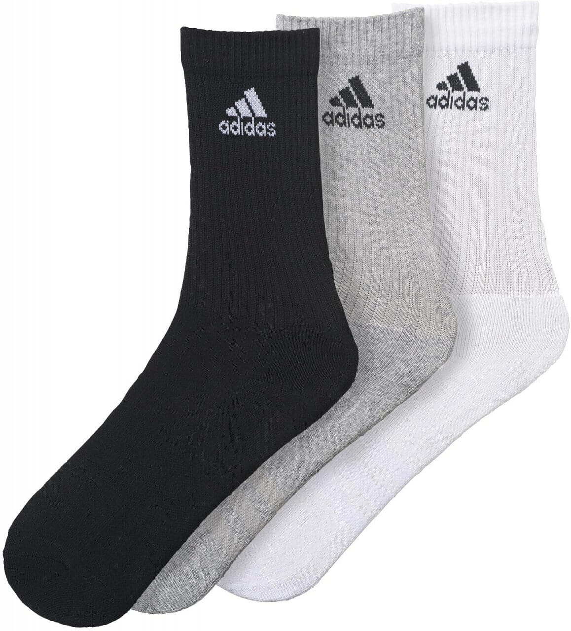 adidas 3S Performance Crew Half Cushioned 3PP. Sportovní ponožky 3dece451ff