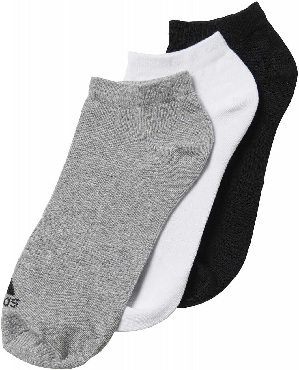 adidas Performance No-Show Thin 3PP. Sportovní ponožky 23bfd523ef