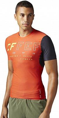 Pánske športové tričko Reebok CrossFit SS Compression Top