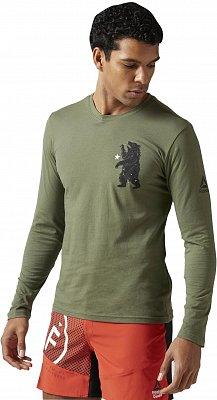 Pánské sportovní tričko Reebok CrossFit Bear LS Tee