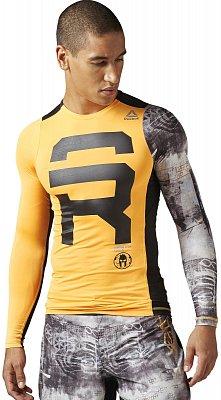 Pánské běžecké tričko Reebok Spartan Race LS Compression fcff8ec784