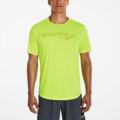 Pánské sportovní tričko Saucony Saucony Short Sleeve