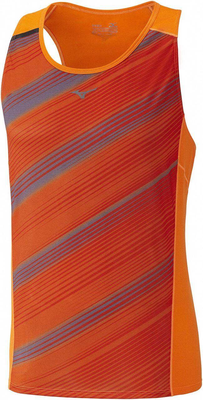 Mizuno Premium Aero Singlet. Pánské běžecké tričko 497b330694