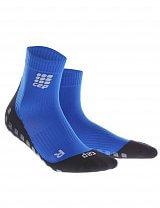 CEP Krátké ponožky griptech pánské modrá