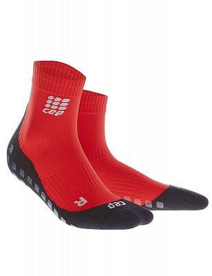 Ponožky CEP Krátké ponožky griptech dámské červená