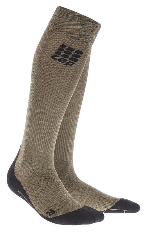 CEP Podkolienky Metalized pánske zlatá - pánske ponožky ... 9df9f5f96e4