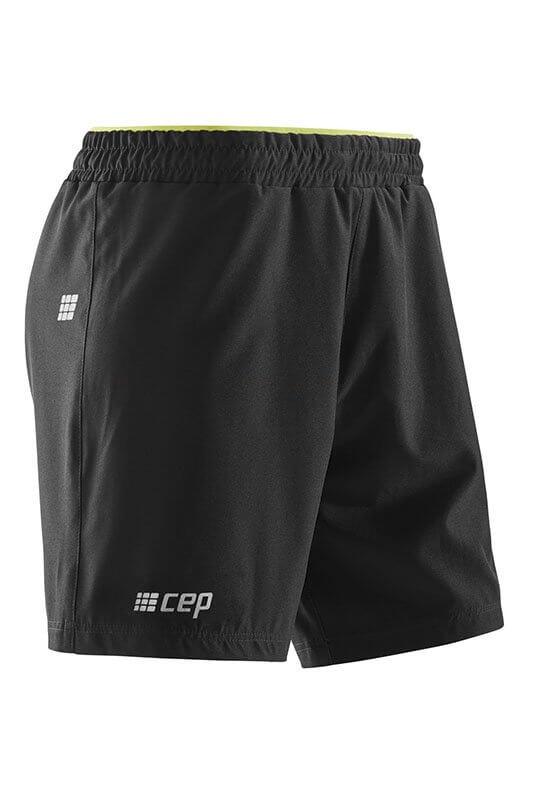 CEP Volné sportovní šortky pánské černá - pánské kraťasy  649f5a79b8