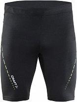 Craft Kalhoty Breakaway Short černá se žlutou