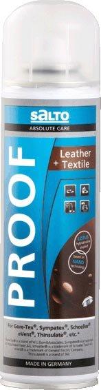 Drogéria és kozmetika Salto Leather-Textil Proof 250 ml- impregnace
