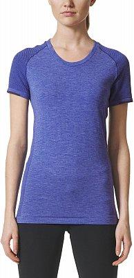 Dámské běžecké tričko adidas Primeknit Wool SS Tee W