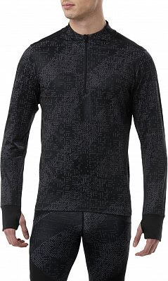 Pánske bežecké tričko Asics Lite-Show LS 1 2 Zip 1ef676d39a