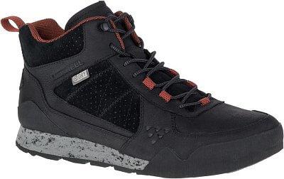 Merrell Burnt Rock Mid WTPF - pánské vychádzkové topánky  365316077c7