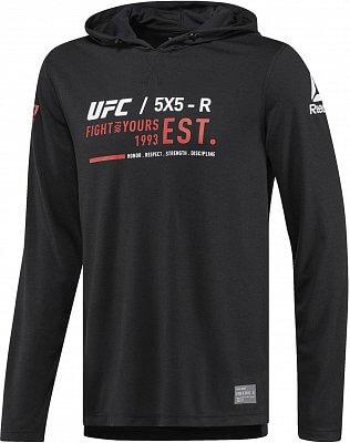 Pánská sportovní mikina Reebok UFC FG Pullover Hoodie