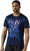 Reebok Running Run Everywhere Graphic Tee