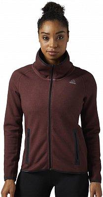 Dámská sportovní mikina Reebok Quik Cotton Washed Full-Zip Jacket