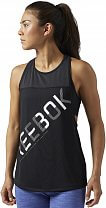 Reebok Workout Ready Mesh Graphic Tank