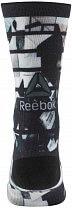 Reebok Active Enhanced Printed U Crew Sock II