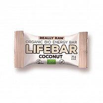 Lifefood, MINI Lifebar kokosová BIO RAW, 25 g