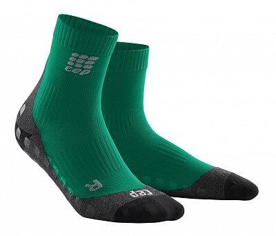 Ponožky CEP Krátké ponožky griptech pánské zelená