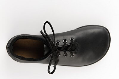 Unisexová vycházková obuv Ahinsa Černá společenská (Ananda)
