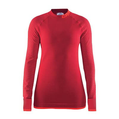 Trička Craft W Triko Warm Intensity červená