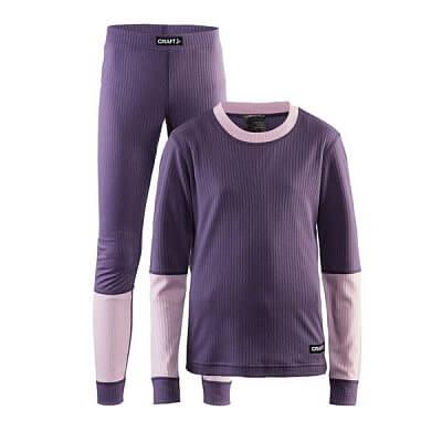 Spodní prádlo Craft Set Baselayer Junior fialová