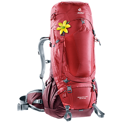 Tašky a batohy Deuter Aircontact Pro 55+15 SL (3330017) cranberry-aubergine