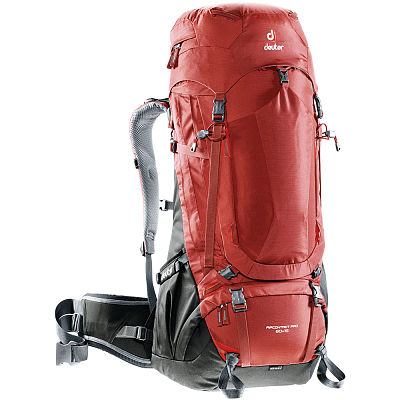 Tašky a batohy Deuter Aircontact Pro 60+15 (3330117) lava-anthracite