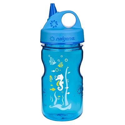 Lahve Nalgene Grip´n Gulp Blue Seahorse