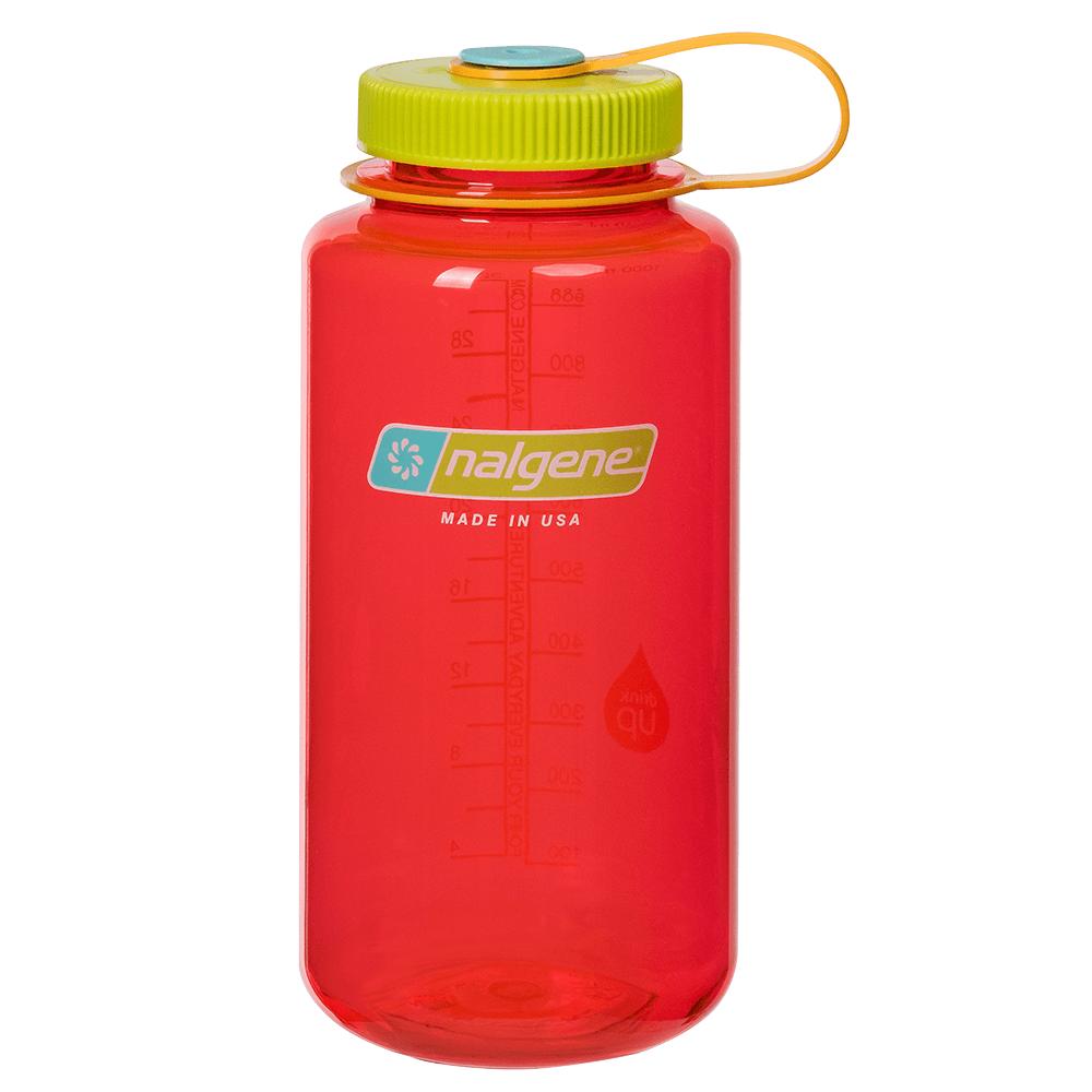 Fľaše Nalgene Wide Mouth 1000 ml Pomegranate