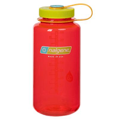 Športové fľaše Nalgene Wide Mouth 1000 ml Pomegranate