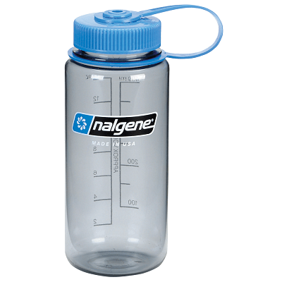 Fľaše Nalgene Wide Mouth 500 ml Gray 2178-9016