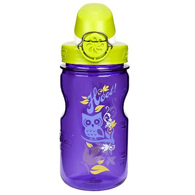 Fľaše Nalgene Clear Kids OTF Purple Hoot