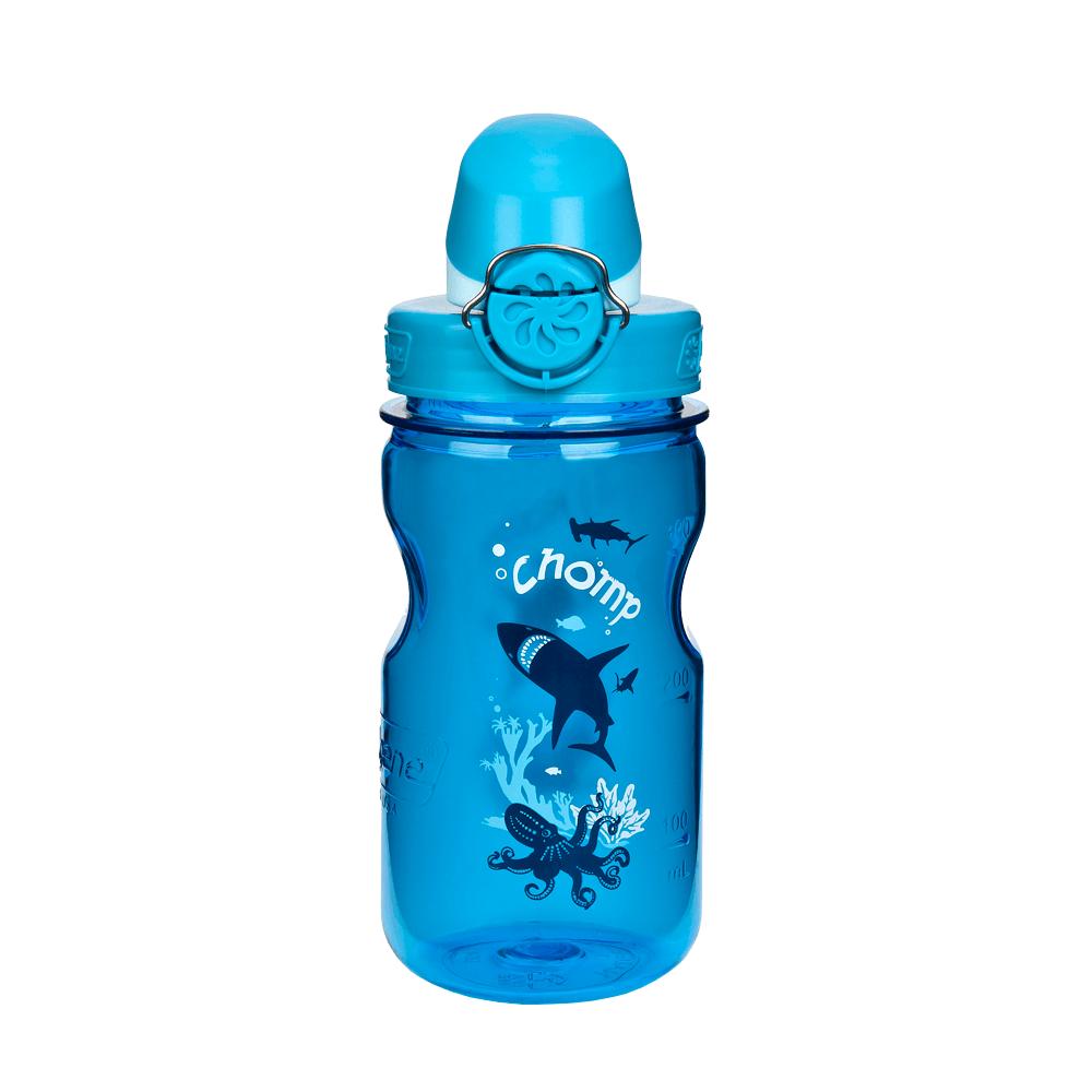 Fľaše Nalgene Clear Kids OTF Slate Chomp 1263-0002