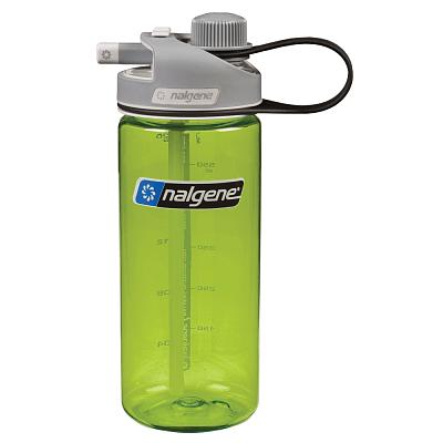 Športové fľaše Nalgene MultiDrink Zelená
